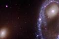 لقد شاهدنا للتو ماذا يحدث عندما تعبر مجرة ثقبًا ضخمًا بداخل مجرة أخرى!