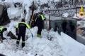 ستة ناجين من حادث الانهيار الجليدي في إيطاليا