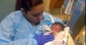 ولادة نادرة تحير الأطباء