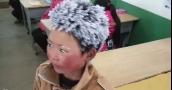 """تلميذ الصين """"المتجمد"""" لن يستفيد من """"التبرعات"""""""