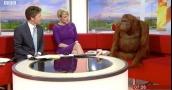 """شاهد .. """"BBC"""" تستضيف """"إنسان غاب"""" في برنامج صباحي .. والسبب!!"""