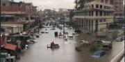 لبنان يغرق.. سيول بالمنازل والأمطار تختلط بالصرف الصحي