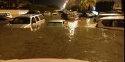 الأمطار تغرق الكويت وخسائر فادحة