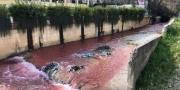 النهر الأحمر يثير عاصفة في لبنان