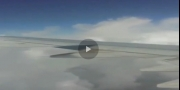 بالفيديو.. لحظات رعب لطائرة سعودية دخلت مطباً هوائياً