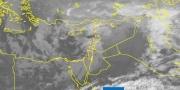 تطورات الحالة الجوية المتوقعة للساعات القادمة