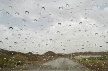 فيما يلي كمية الامطار الهاطلة في فلسطين حتى صباح 10/1/2016