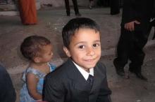 مصرع طفل دهسا من قبل باص روضته