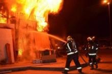 وفاة مسن في حريق منزل قرب نابلس
