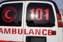 مصرع مواطن وطفله في حادث سير مروع في نابلس
