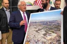 شاهد.. سفير أمريكا يرحب بصورة تستبدل بالأقصى هيكلا يهوديا