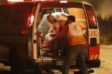 11 إصابة في حادث تصادم بين أريحا ورام الله