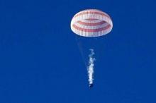 البعثة 55 تعود إلى الأرض بعد 186 يوما
