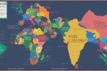 خرائط البشر والسكان لا البلدان والجغرافيا، هي ما نحتاجه لنعرف ...