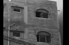 فيديو- انقاذ طفل من الموت في غزة