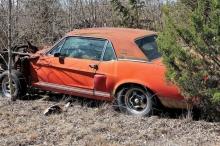 السيارة النادرة اختفت نصف قرن.. وعثر عليها بأغرب مكان