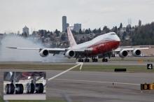 لماذا لا تنفجر إطارات الطائرات عند الهبوط؟