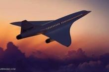 """طائرة بسرعة فائقة تختصر رحلة """"لندن نيويورك"""""""
