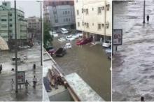 شاهد.. الأمطار تغرق جدة السعودية