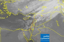 صور الأقمار الصناعية: سحب ركامية ضخمة وامطار غزيرة قادمة الى ...