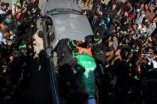 تشييع جثمان الشهيد مازن فقهاء