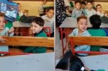 سخر الجميع من الطفل الباكي في المدرسة لـ«ينام ربع ساعة ...