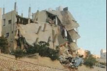 فيديو.. الاردن: قتيل و16 إصابة وانهيار مبنى بالسلط
