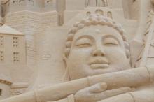 بوذا نائماً.. باكستان تكشف عن تمثال عمره 1700 عام