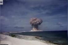 بالفيديو... أمريكا تفرج لإول مرة عن تسجيلات لتجارب نووية سرية ...