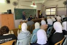 """""""الإسلامي الفلسطيني يعقد محاضرةً حول البنوك الإسلامية في مدرسة في ..."""