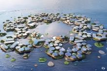 مع ارتفاع منسوب المياه بالأرض.. هل المدن العائمة هي الحل؟