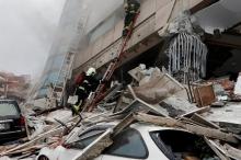 زلزال بقوة 6.4 يضرب تايوان ويهز مباني العاصمة