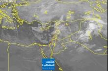 تطورات الحالة الجوية للساعات القادمة.. النشرة المسائية