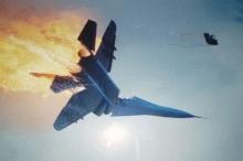"""إسقاط طائرة """"إف 16"""" إسرائيلية وإصابة الطيّارين بجراح خطيرة"""