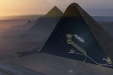 اكتشاف تاريخي : علماء يجدون فراغًا هائلًا مخفيًّا في هرم ...
