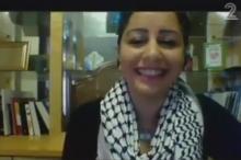 بالفيديو... ابنة أخت قائد فلسطيني تدافع عن إسرائيل وتحيي علمها
