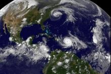 """الإعصار """"ماريا"""" يصل إلى اليابسة في بويرتوريكو"""