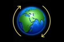 كم من الوقت يستغرق سقوط جسم عبر طرفي كوكب الأرض؟