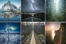 """صور جوية مذهلة تُظهر الجمال المدهش لــ""""لابلاند"""" بفنلندا"""