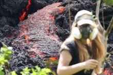 هاواي.. سحب سامة بعد الحمم البركانية