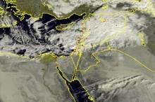 الأقمار الصناعية ترصد اقتراب سحب ركامية قوية صوب السواحل الفلسطينية