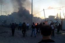 غزة: خمس إصابات في انفجار عرضي بموقع للمقاومة