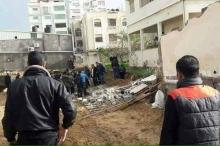مصرع مواطن بانهيار جدار في غزة وآخر بسقوطه من منزله ...