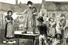 لماذا كان الرجال في بريطانيا يبيعون زوجاتهم في القرن السابع ...
