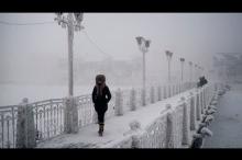 جولة بالفيديو والصور إلى أبرد مكان على وجه الأرض .. ...