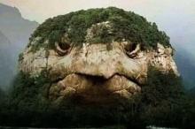 هل تستطيع معرفة إن كانت صورة هذا الجبل الشبيه برأس ...