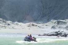 لم يبق ناجون في الجزيرة النيويلاندية التي هزها البركان