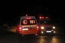 حادث سير كبير بين نابلس وقلقيلية وعشرة إصابات بينها خطرة