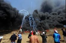 مقاومة الكاوتشوك في غزة ...خطوة لفضح دفاع إسرائيل المزعوم عن ...