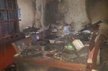 """19 اصابة بينهم 2 خطيرة بحريق بمنزل في """"بيت شيمش"""""""